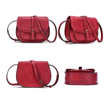 shine boutique, sac bandoulière raphaelle rouge, sac bandoulière, sac à main vegan, sac à main naturel, sac à main similicuir, sac à main bio, sac pour femme, sac chic