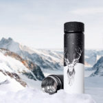 thermos cerf, bouteille inox isotherme style cerf et animaux