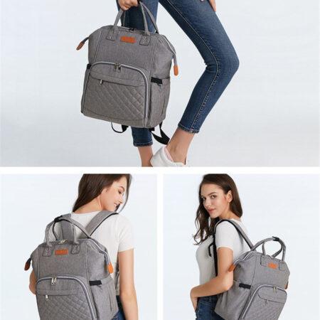 sac à dos à langer, sac de maternité, sac à couches, sac multifonctions, shine boutique, shine