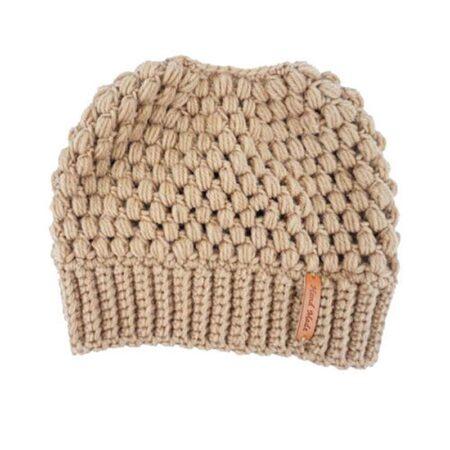 Shine boutique, bonnet queue de cheval nevada, bonnet trou, bonnet en tricot et crochet, bonnet hiver