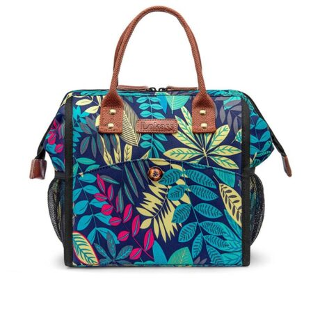 sac repas isotherme feuilles amazonia clair