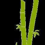 shineboutique, set de couverts bambou, set de 3 couverts en bois, set de couverts réutilisables écologiques biodégradables