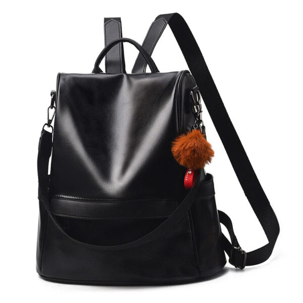sac à dos antivol vintage à fermeture cachée