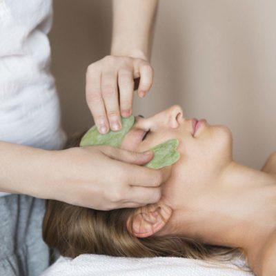 shine boutique, gua sha jade, masseur visage pierre energétique