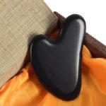 shineboutique, gua sha obsidienne noire, masseur visage pierre energétique