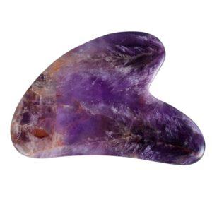 shine boutique, gua sha amethyste, masseur visage pierre energétique