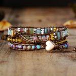 Bracelet Jaspe «force et sérénité»