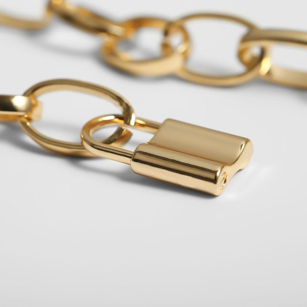 collier chaine cadena or 1