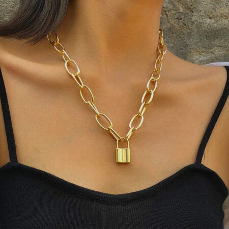 collier chaine cadena or 1