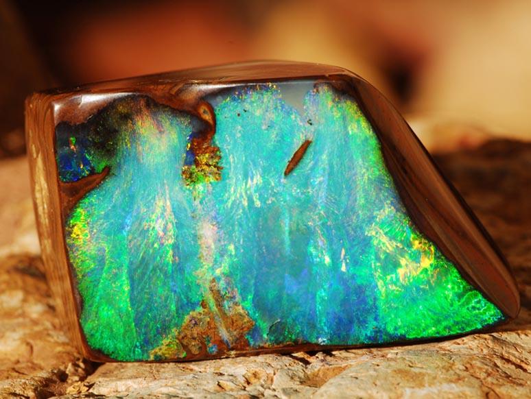 pierre naturelle opale