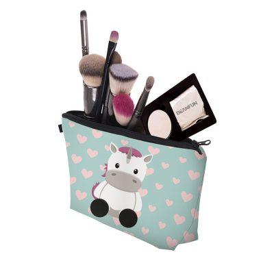 pochette maquillage bebe licorne