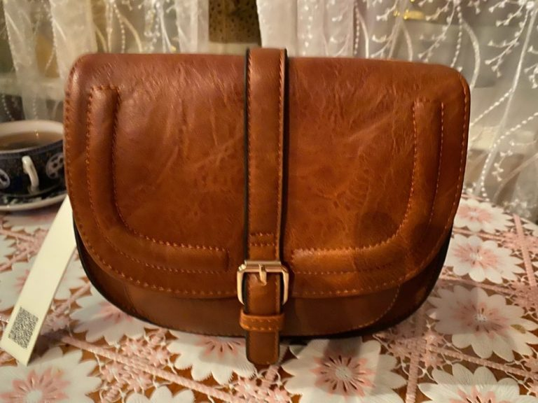 Sac Bandoulière Brun Raphaelle - Grand photo review