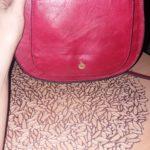 Sac bandoulière Raphaelle rouge - Grand