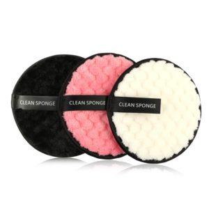 shineboutique, cotons démaquillant microfibres réutilisables, disque démaquillant, éponge de soin réutilisable et lavables