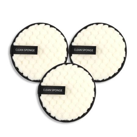 shineboutique, Cotons Démaquillants Réutilisables blancs