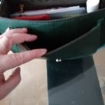 Sac Bandoulière Vert Raphaelle - Grand photo review