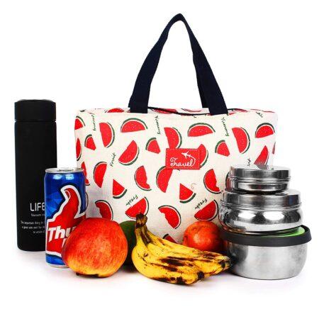 shineboutique, Sac Glaciaire Isotherme Pastèques, lunch bag, sac repas isotherme