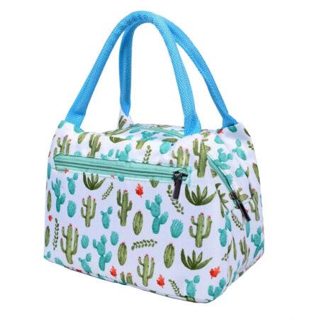 sac repas isotherme cactus