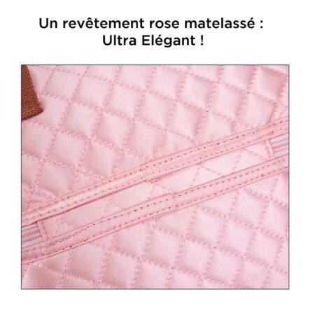 sac repas rose XXL 6