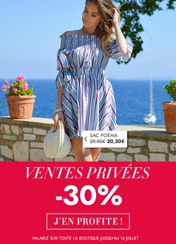 Ventes privées mode femmes accessoires sacs