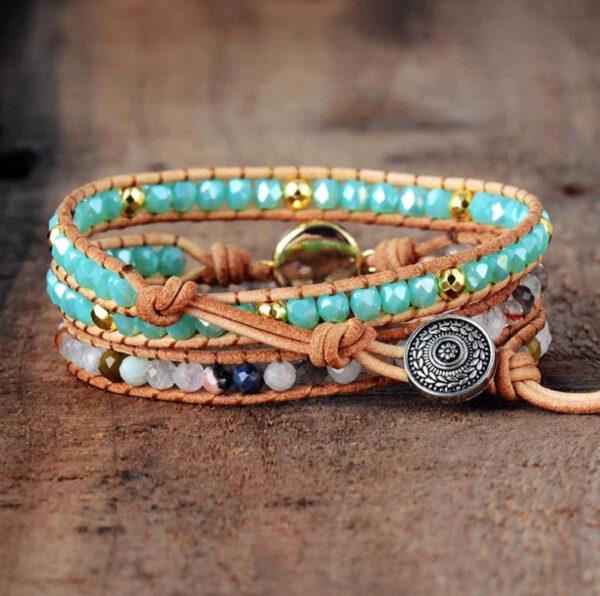 shineboutique, bracelet opale