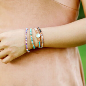 shineboutique, bracelet opale