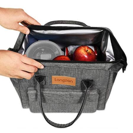 sac à déjeuner gris 4