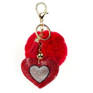 porte-clé cœur, shineboutique