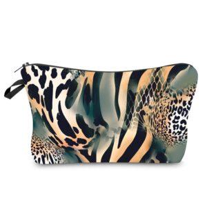 trousse cosmétique léopard, shineboutique