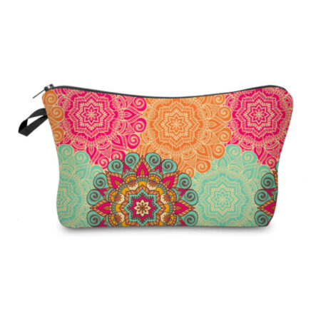 Pochette maquillage mandala, shineboutique