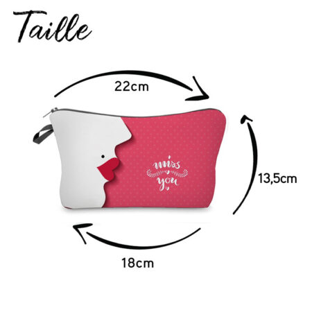trousse maquillage miss you, shineboutique