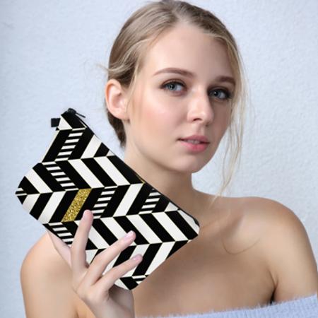trousse maquillage géométrique, shineboutique