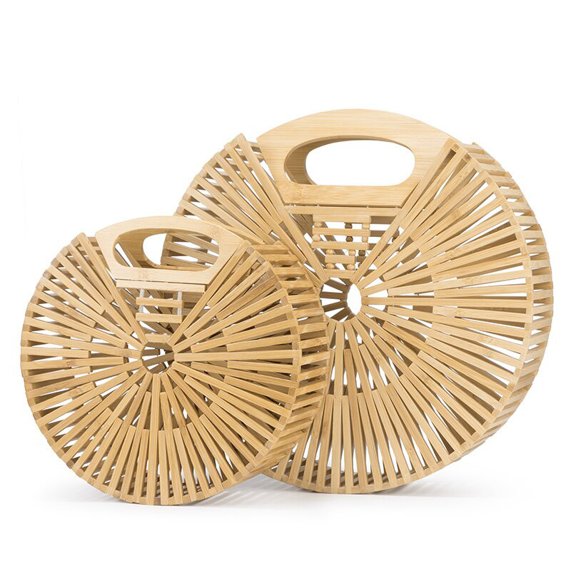 sac bambou rond, shineboutique
