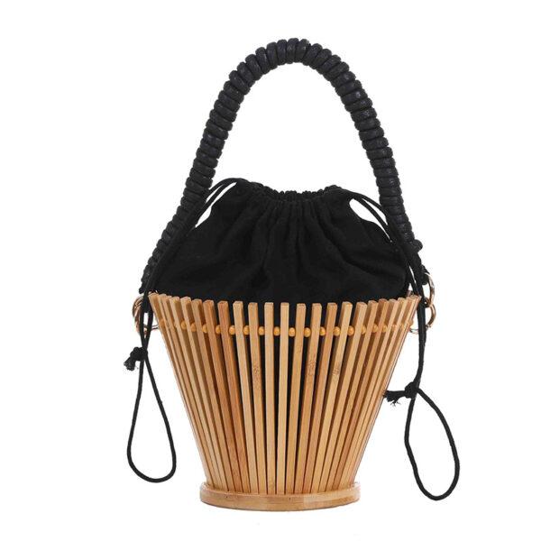 sac bambou seau, shineboutique