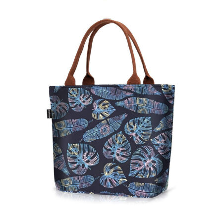 sac repas monstera multicolores 1
