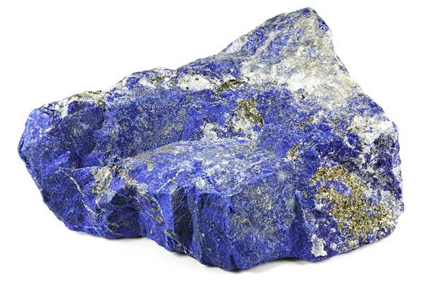 pierre naturelle de lapis lazuli