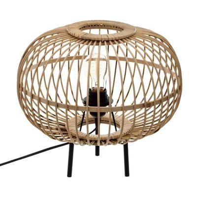 lampe bohème bambou