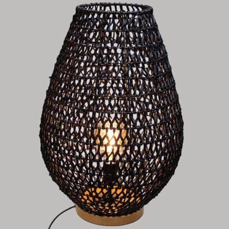 lampe bohème métal et corde
