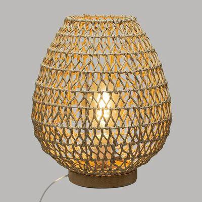 lampe à poser metal et papier