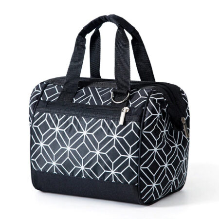 lunch bag géométrique
