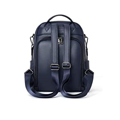 sac à dos antivol bleu mencia