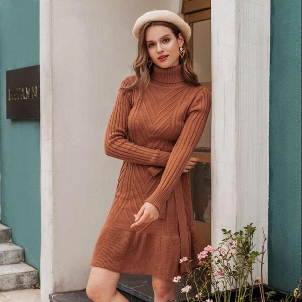 robe laine femme bohème