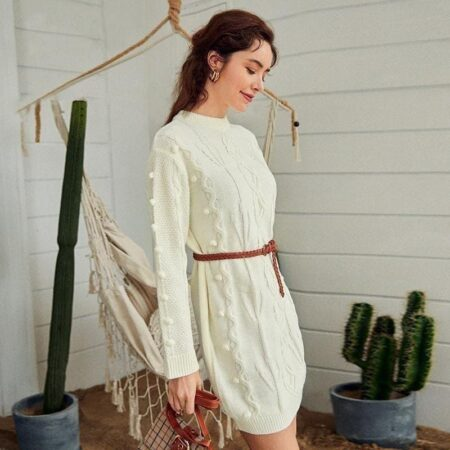 robe tricot bohème