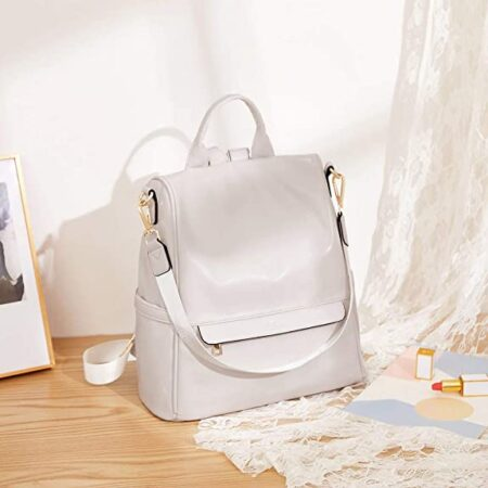 sac antivol cuir blanc blair